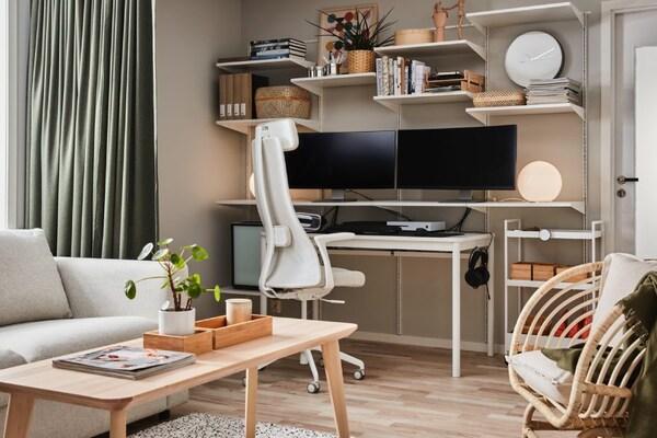 Nowoczesne biuro w domu – jakie kolory wybrać?