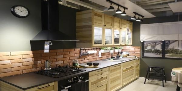 Nowy dział mebli kuchennych w IKEA Gdańsk.
