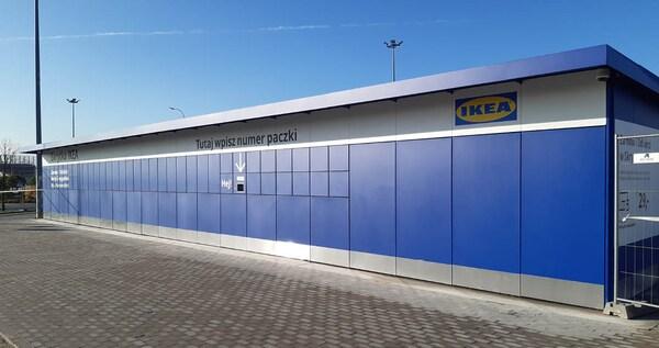 Nowy sposób odbioru zamówienia przy sklepie IKEA Łódź