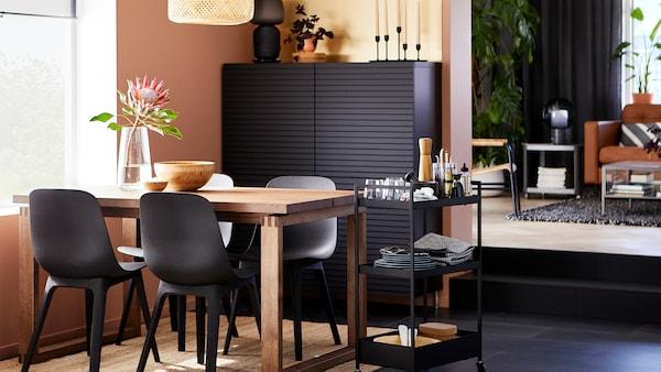 نصائح حول كيفية تخطيط مساحة غرفة الطعام الخاصة بك.