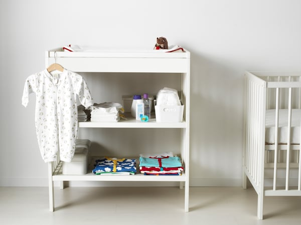 Nursery — GULLIVER changing table — IKEA interior inspiration
