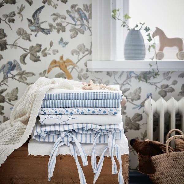 Nursery — GULSPARV baby blanket — IKEA interior inspiration