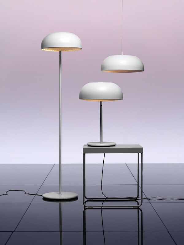 NYMÅNE lamps