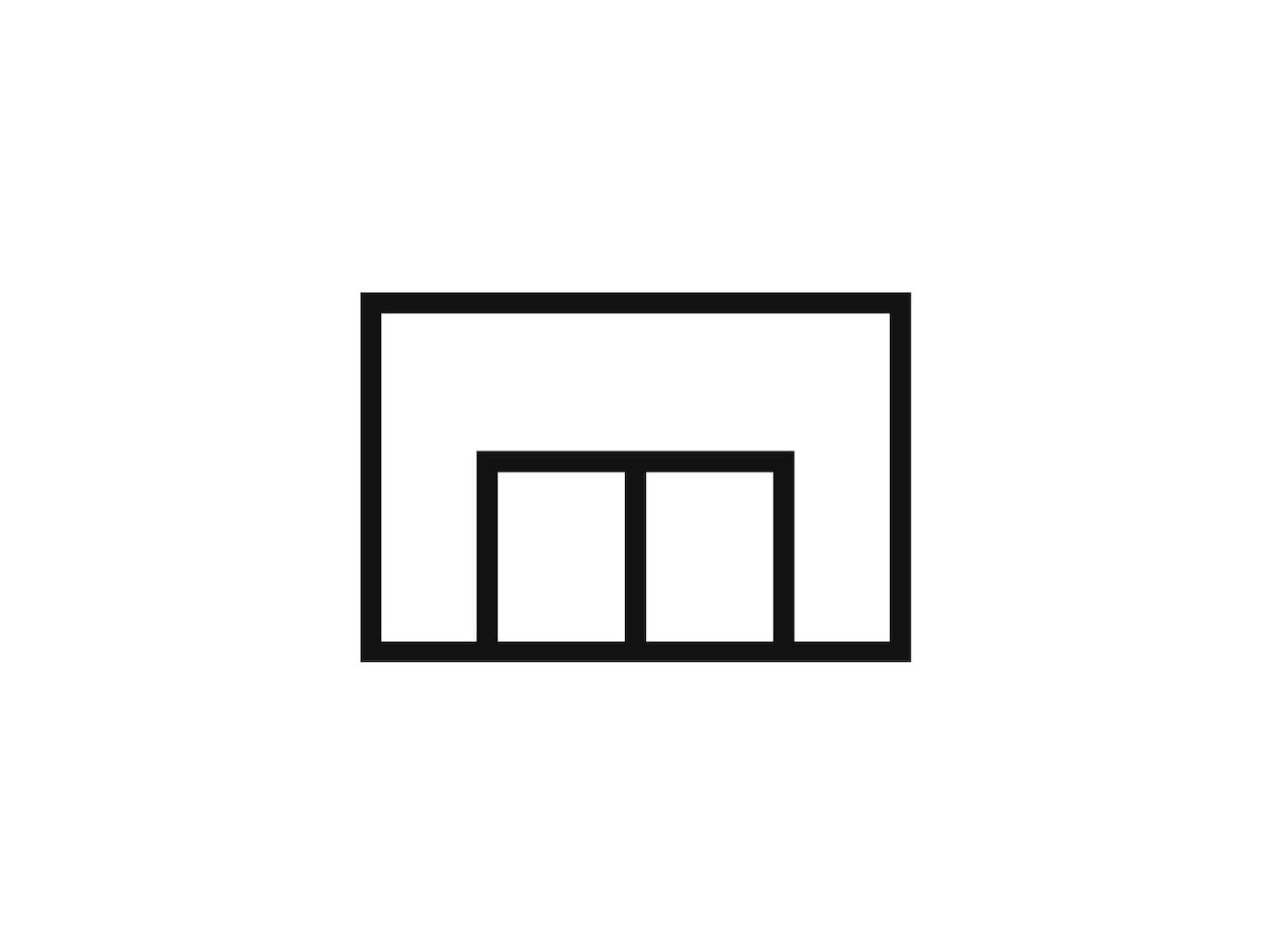 Obrázok obchodného domu, ktorý symbolizuje nakupovanie v obchodnom dome.