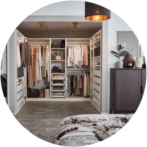 Offener begehbarer Kleiderschrank PAX