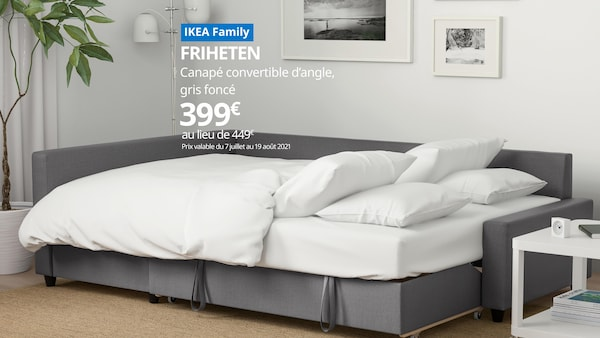 offre ikea family canapé convertible