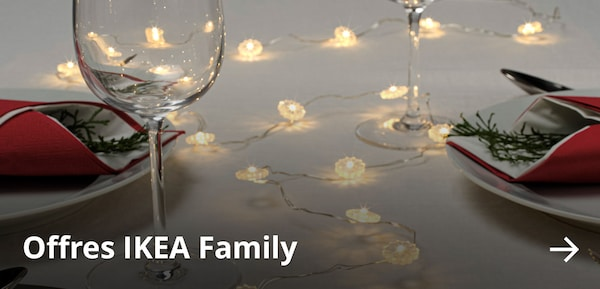 Offres IKEA Family