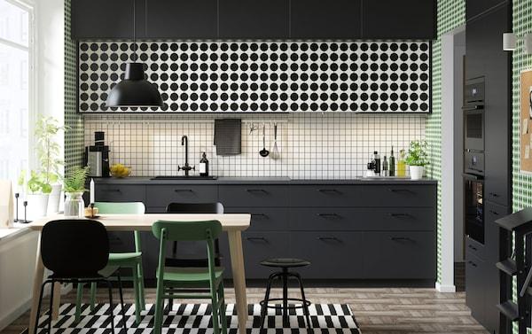 Cucina Industriale Ikea.Lasciati Ispirare Dalle Nostre Cucine Ikea