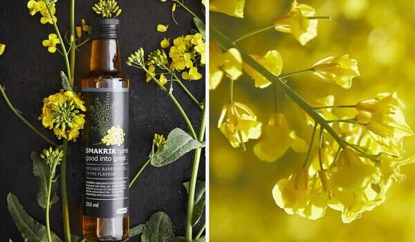 Olio di colza biologico SMAKRIK sostenibile di IKEA