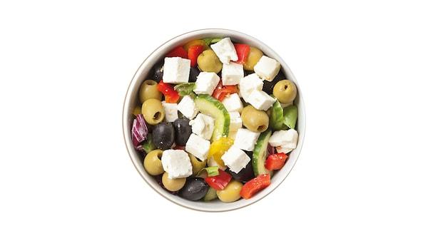 Olivás saláta
