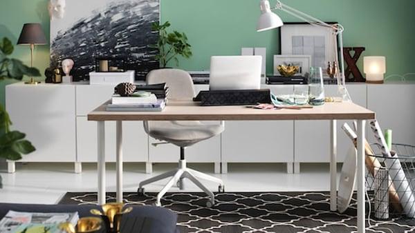 ontwerp je eigen bureau ikea
