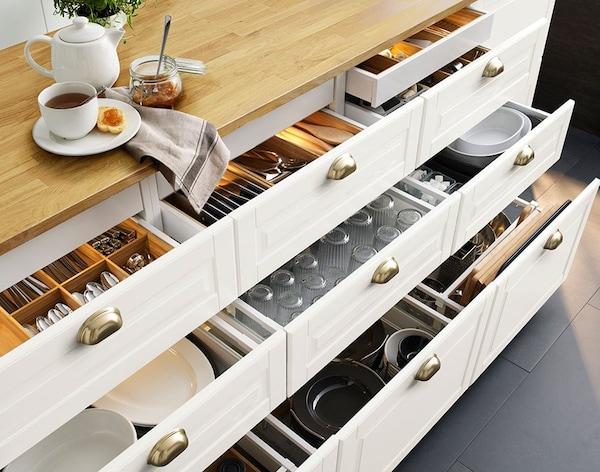 Goede 3 x opbergtips voor in je keuken - IKEA MJ-99