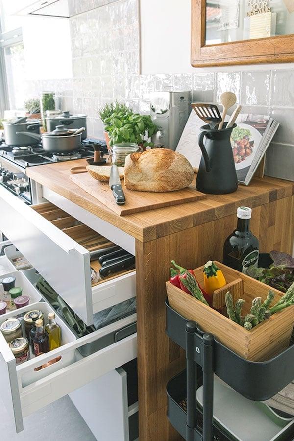 Uitgelezene 3 x opbergtips voor in je keuken - IKEA MG-93