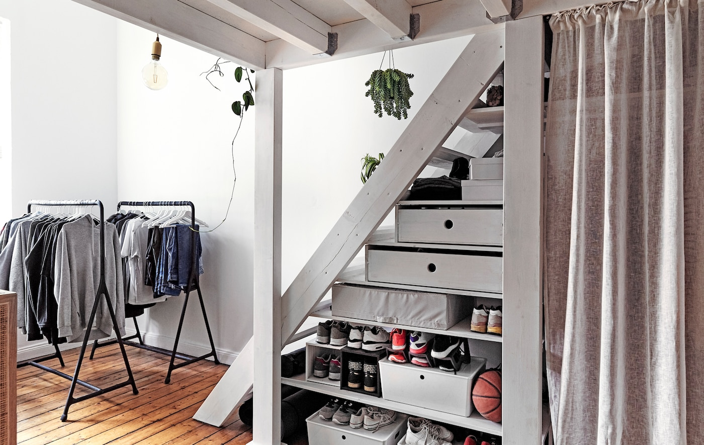 Storage ideas for small bedrooms  IKEA - IKEA