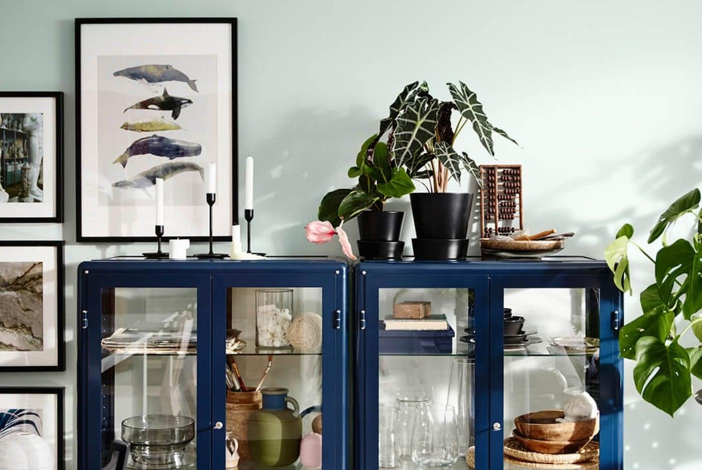 Open kast inrichten - styingtips - IKEA wooninspiratie
