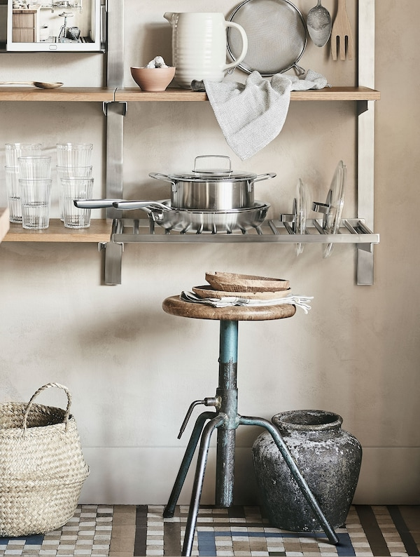 Store more on your walls | Kitchen storage ideas - IKEA