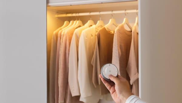 Optimaliseer met kledingkastverlichting