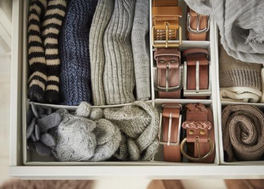 Orden en casa - Guía para organizar cajones y armarios