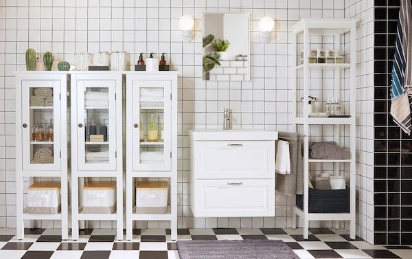 Mobili Bagni Moderni Ikea.Organizza Il Tuo Bagno Ikea