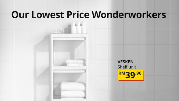 Our lowest price wonderworkers