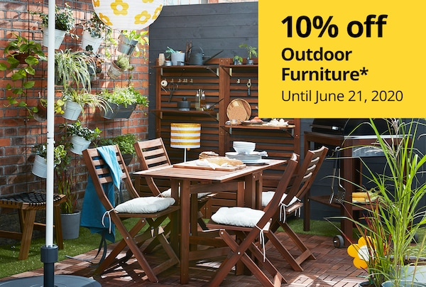 Outdoor Furniture 10% off