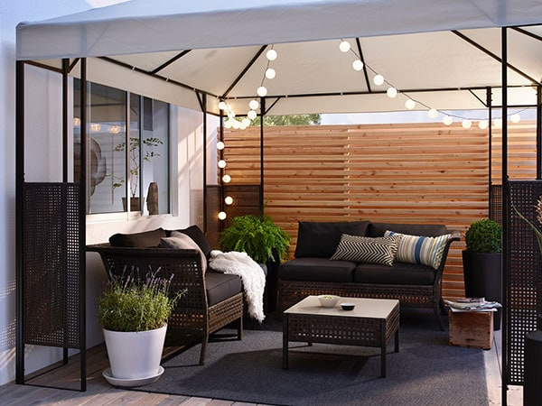 Enjoy Summer Outdoors Even In The Rain Ikea