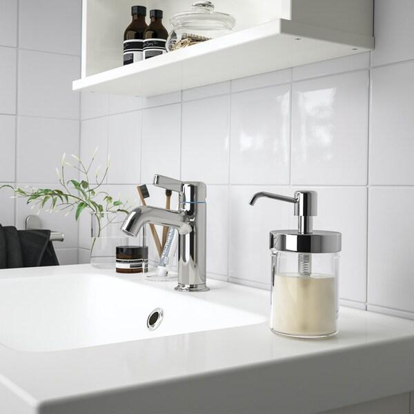 OXNAN Dávkovač na mydlo, chrómový vzor.