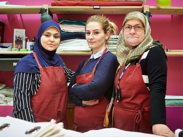 På Världsflyktingdagen den 20 juni hedrar IKEA modet, styrkan och uthålligheten hos världens alla flyktingar.