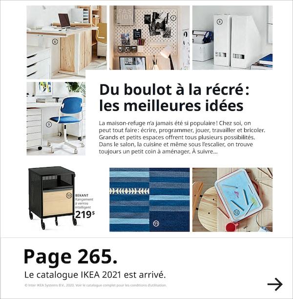 Page 265. Le catalogue IKEA 2021 est arrivé.