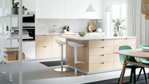 Pagina della galleria con idee per la cucina.