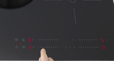 Panel de control táctil