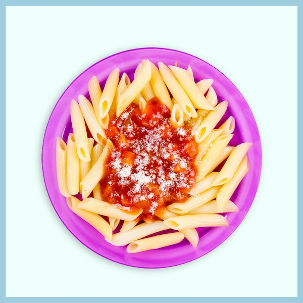 Pasta  with Tomato Sauce  RM6.50