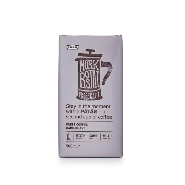 PÅTÅR Serbuk kopi, dark roast, 500g