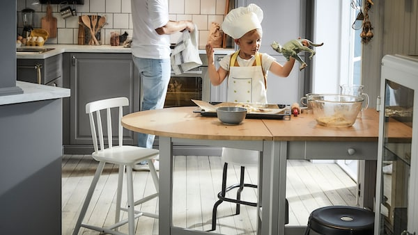 Pâtisserie en famille