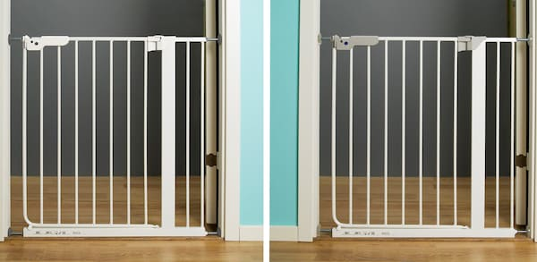 PATRULL KLÄMMA and PATRULL SMIDIG pressure mounted safety gate