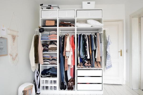 Tips Voor Een Open Garderobekast Ikea