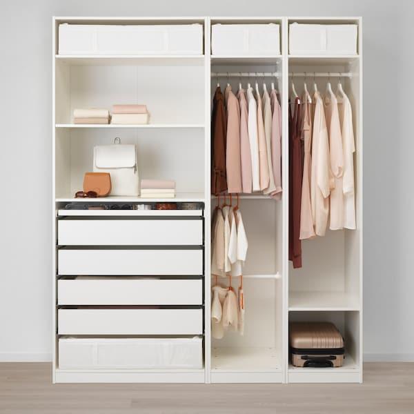 PAX Kleiderschrankkombination in weiß