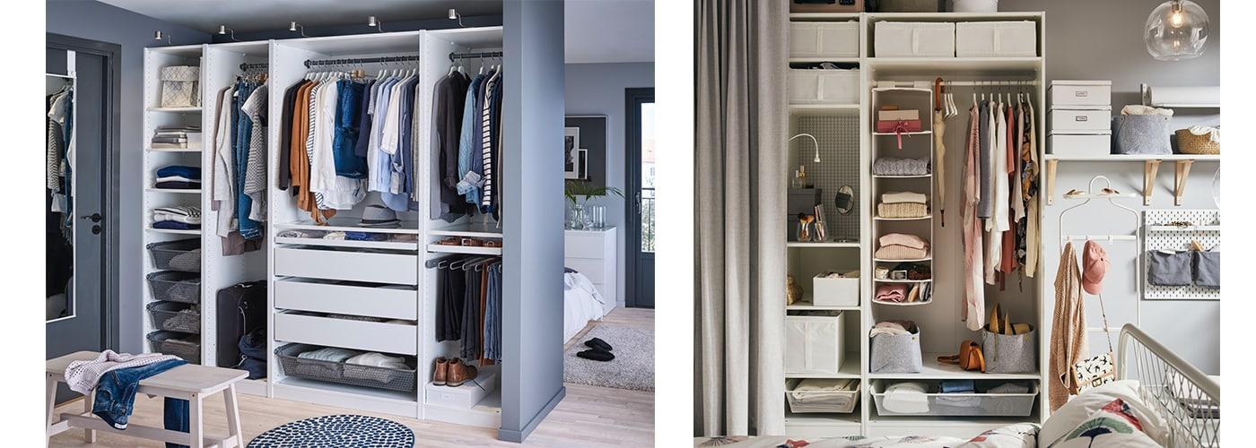 Inspiration für Ordnung im Kleiderschrank IKEA Österreich