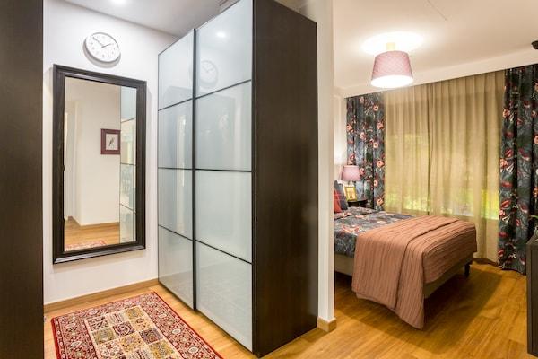 PAX Wardrobe, black-brown, Sekken frosted glass, 150x66x236 cm