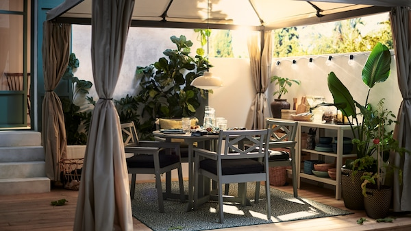 Pełna galeria pomysłów na patio i balkon.