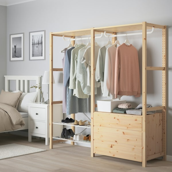 Penyelesaian almari pakaian
