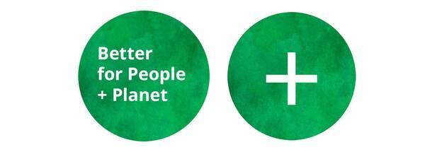People & Planet Positive green logo.