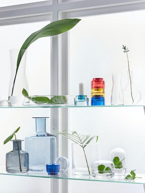 PEPPARKORN Vase, blue28 cm