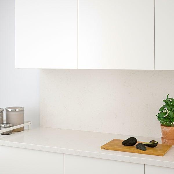 PERSONLIG white laminate countertop
