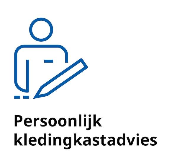 Persoonlijke kledingkastplanservice bij IKEA Duiven