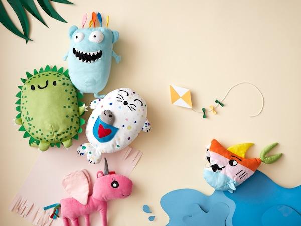 Pertandingan! Lukisan anak anda boleh menjadi satu mainan lembut yang akan dijual di gedung IKEA secara global!