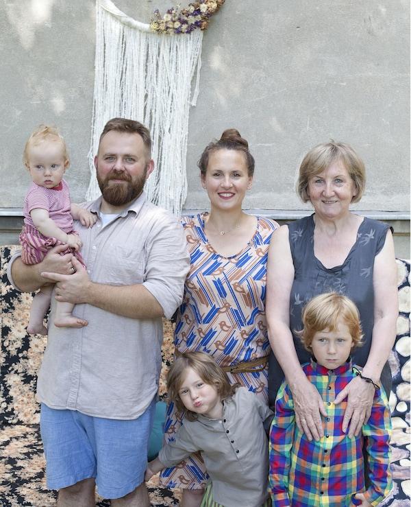 Photo de la famille de Kasia et Bob