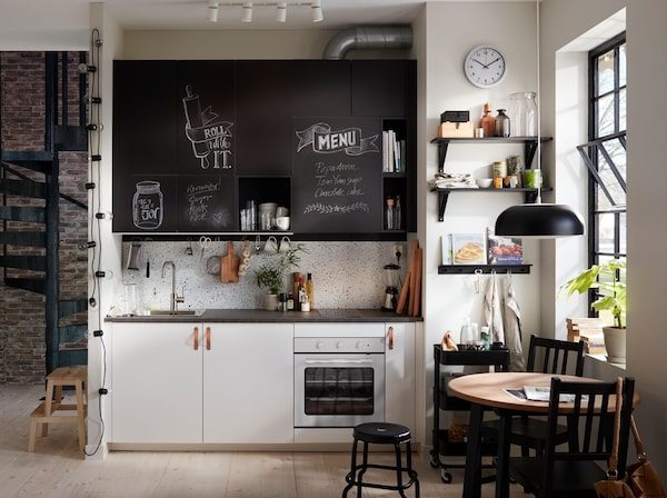 Ante Cucina Ikea Misure.La Cucina Apre Le Porte Alla Creativita Ikea It