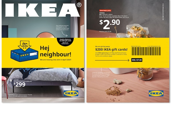 Pick up a catalogue and stand to win a $200 IKEA gift card!