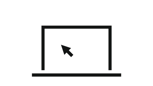 Pictogram of a computer.